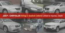 Consumer Safety Watch Warns Many Chrysler, Jeep and Dodge Vehicle Owners May Be in Danger Due to a Defect Affecting Air-Bags and Automatic Seat-Belt Tighteners