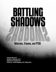New Treatment Option for Traumatized Veterans Suffering From PTSD Utilizes Cognitive-Behavioral Groups