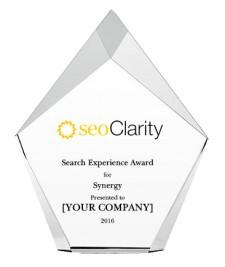seoClarity Recognizes Grainger With 2016 Search Experience Award for Synergy
