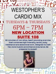 TENTEN Wilshire: Shape Up for 2017 with Westopher's Cardio Mix