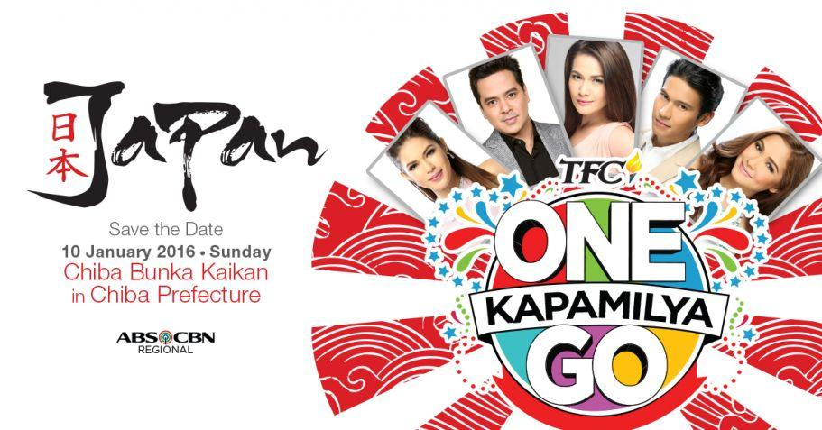 ABS-CBN and TFC kick off 2016 with One Kapamilya Go! Japan