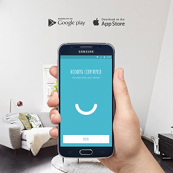 Book a cleaner online, on-demand with WHIZZ's latest Android app