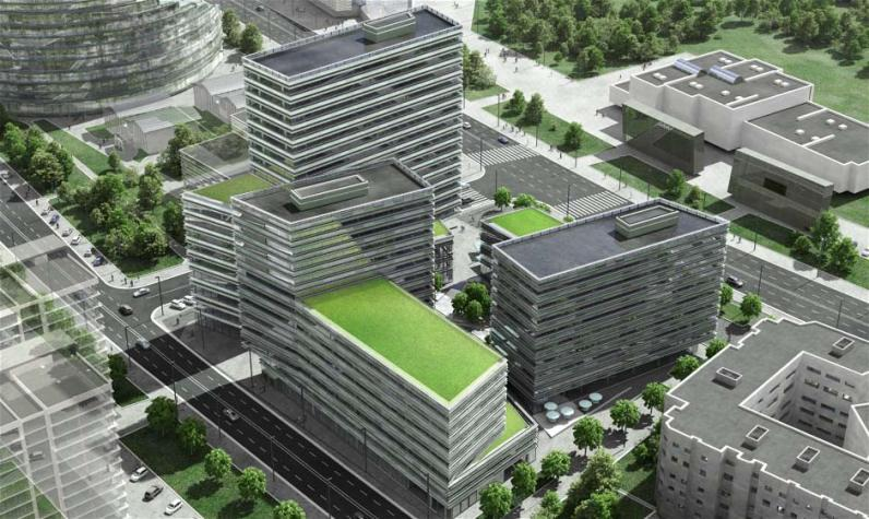 Quadrum: a business city within the city