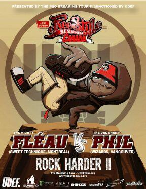 Universal B-Boy League Announces Freestyle Session Canada: Rock Harder II