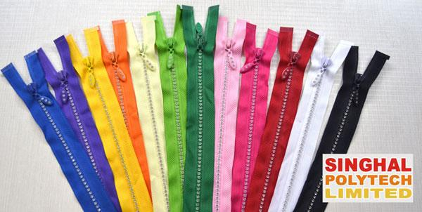 L-Type zippers Developed by Singhal Poytech Limited