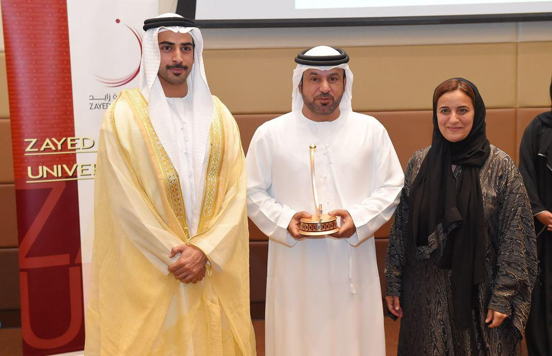 Sheikha Lubna awards winners of Fairytales and Fables from the UAE Writing Competition