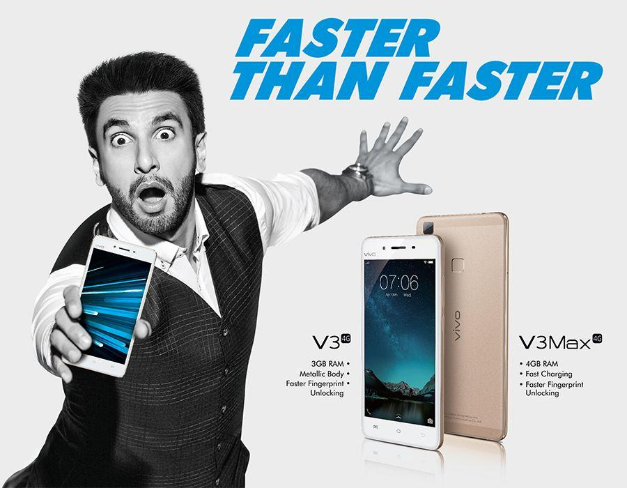 Vivo Mobile Launches V3 and V3Max Smartphones in India
