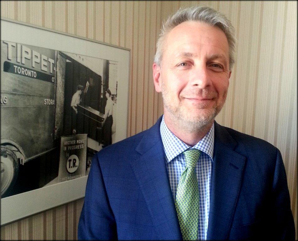 Dean Hefford will hold a role as Tippets World's General Manager since 2016