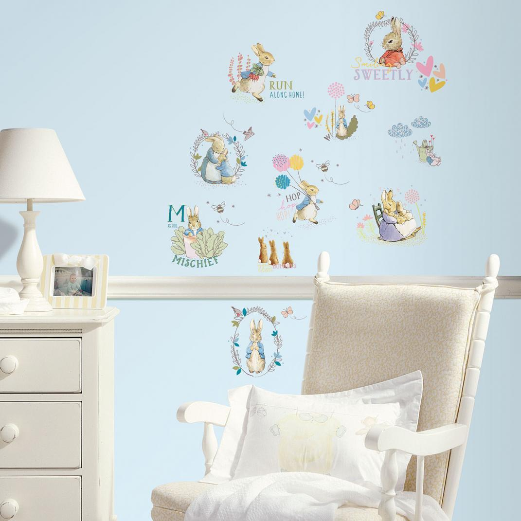 New Peter Rabbit Wall Stickers – Celebrating 150 years of Beatrix Potter