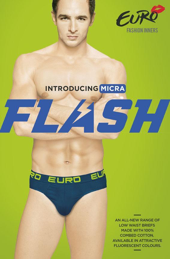 Euro Fashion Inners launches fluorescent underwear under the label Micra Flash