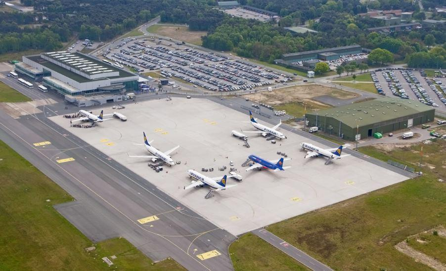 UltraCrete Takes to the Skies at Weeze Airport