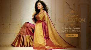 Pure Silk Sarees Online Shopping in India from Vijayalakshmi Silks