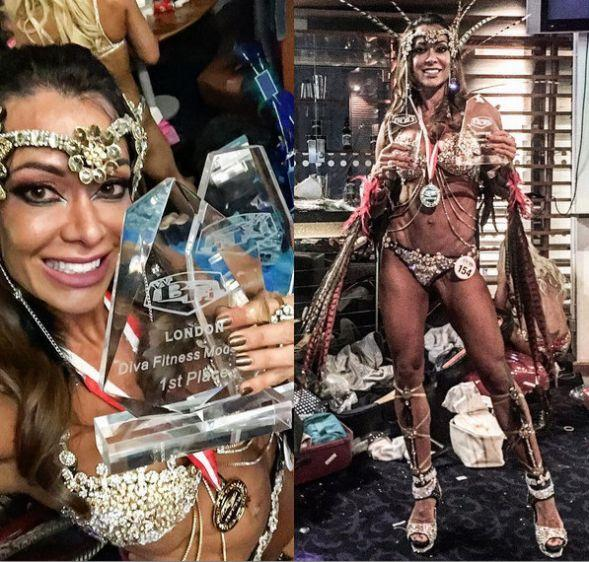 "Vanusa Canofe Is The New ""Wbff European Champion Diva Fitness Model 35+ 2016"""
