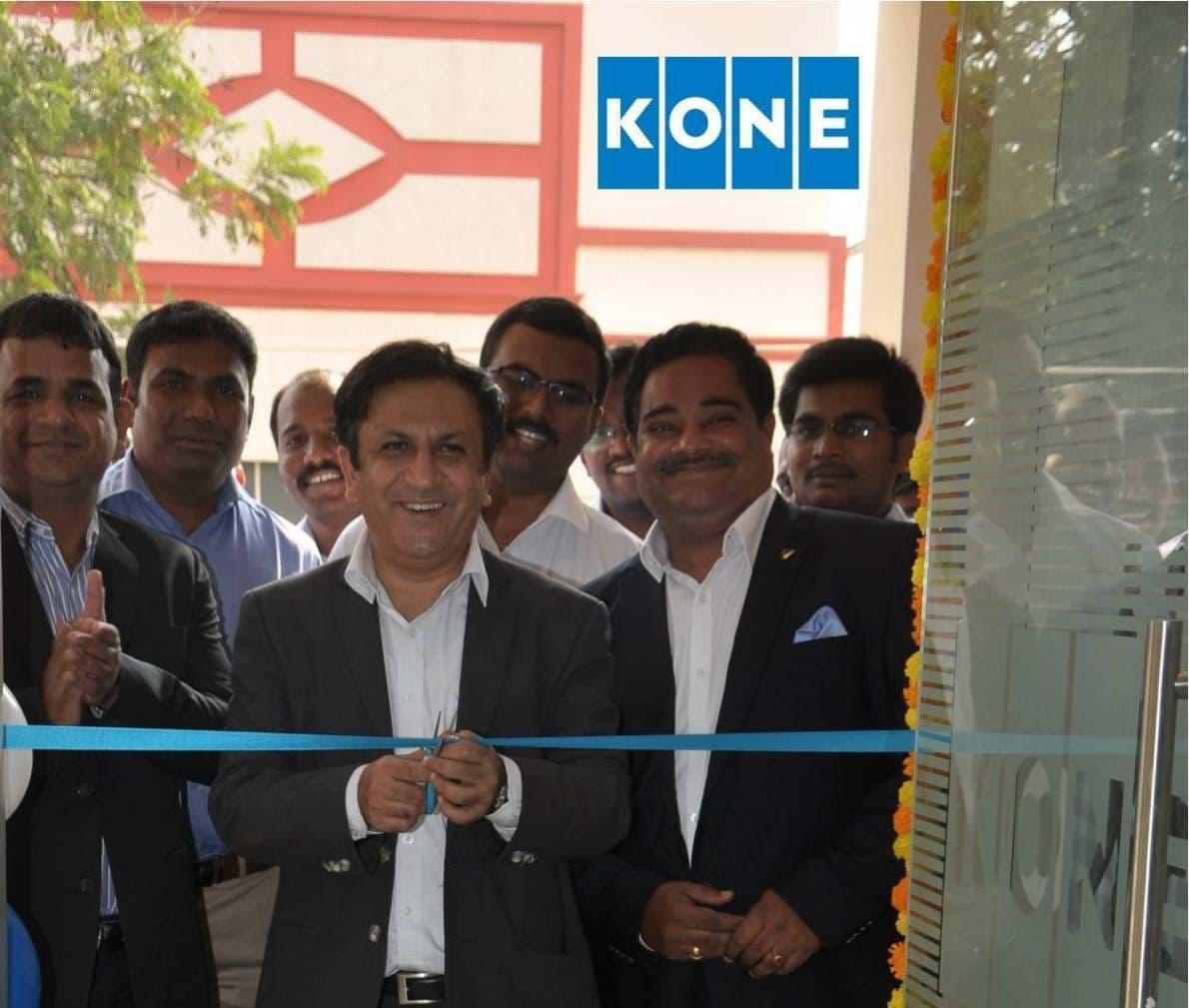 KONE – Elevators & Escalators Opens New Office in Vijayawada. Moves closer to the Customers!