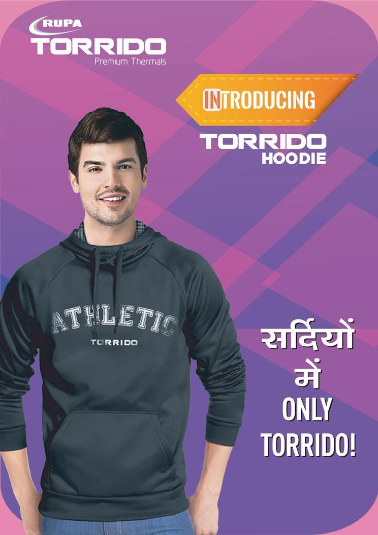 RUPA unveils Designer Hoodies under its Premium Thermal Wear brand, 'Torrido'