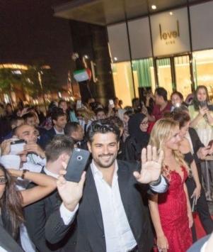 Stars of Turkish TV Series Hareem Al Sultan in Dubai for