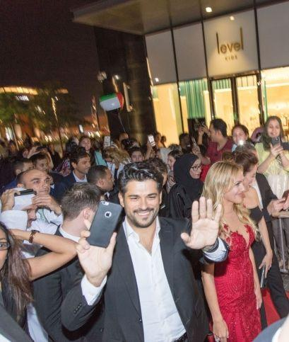 Stars of Turkish TV Series Hareem Al Sultan in Dubai for Exhibition Dedicated to Hit Show