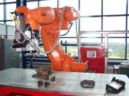 Breakthrough of friction stir welding through an automated robotic system