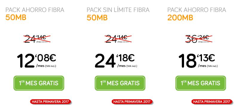 Ofertas Jazztel: ADSL o Fibra, fijo,móvil y Orange TV al mejor precio