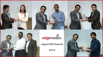 Edgematics Technologies honors its star achievers at the 2017 Kick-off