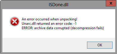 isDone.dll Error Fix – Guide to Fix isDone.dll Errors When Installing Games Released by PCFixes.com