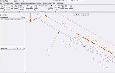 New Version of Isometric Software for the automatic creation of Piping Isometrics in Creo Piping