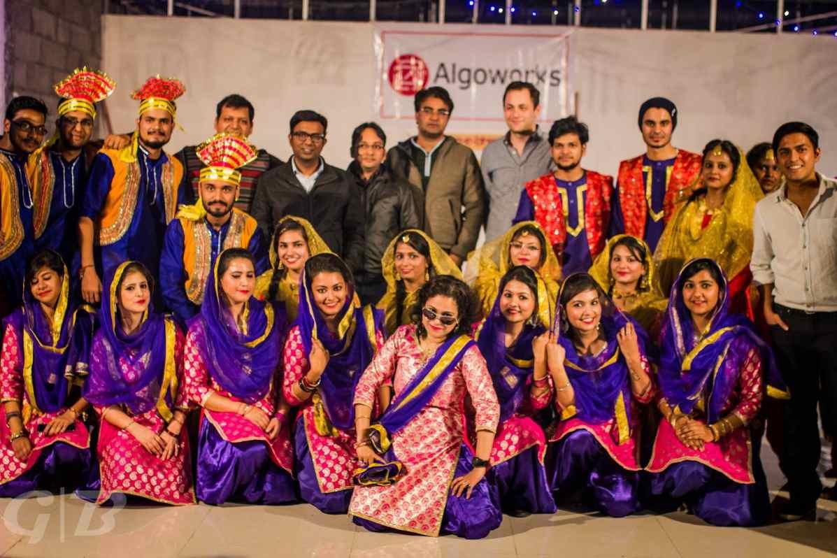 Algoworks celebrates Lohri 2017!