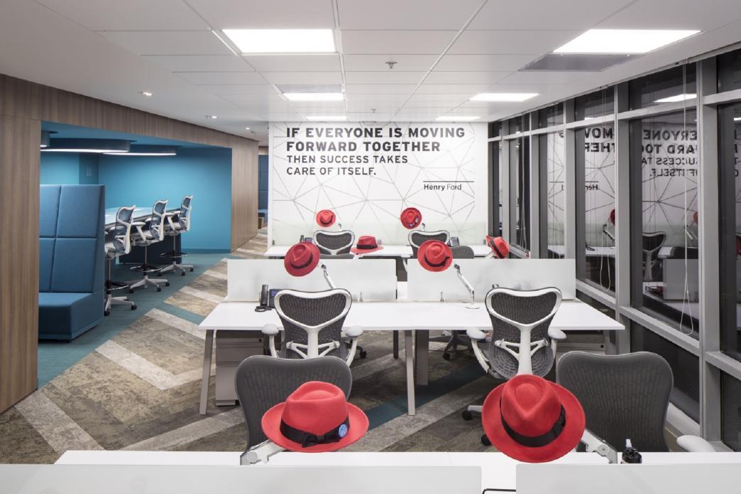 Diseño de Oficinas Corporativas de Red Hat
