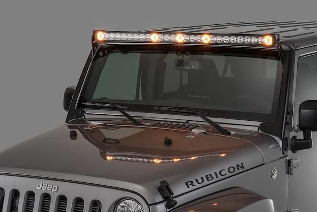 Quadratec's J5 Dual Purpose LED Light Bar Now Available For Jeep TJ/JK Wranglers