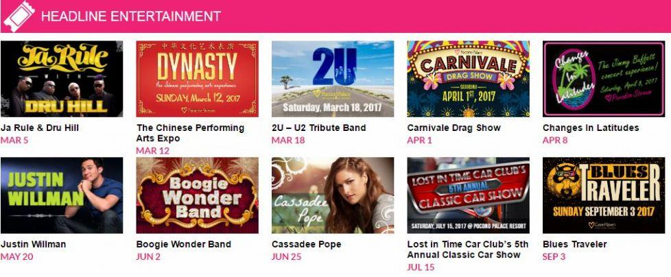 Station Avenue Expands Cove Haven Entertainment Resorts Turbo Charged 2017 Billboard Line-Up