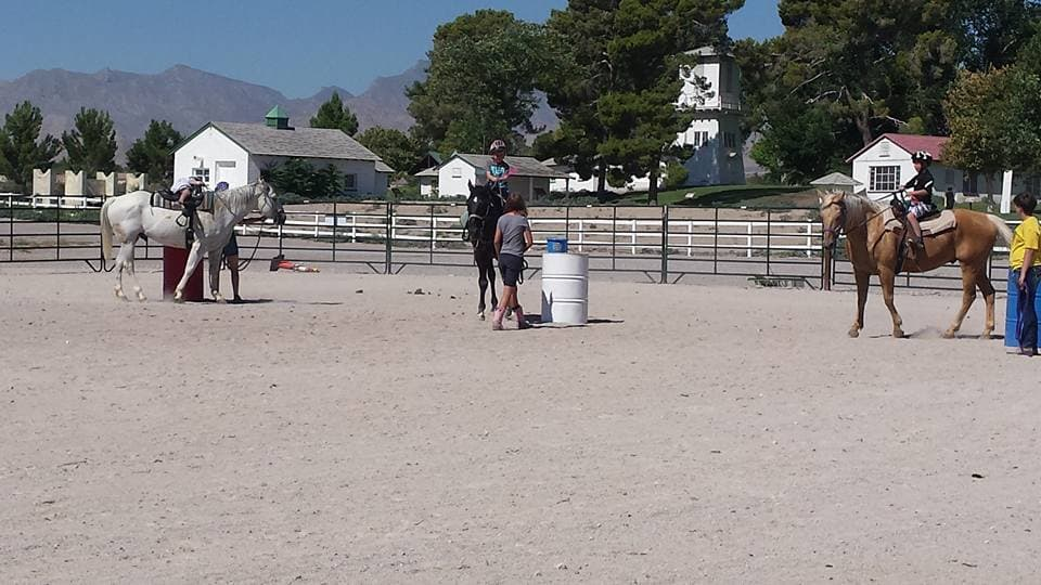 Riding Horses at Floyd Lamb Park is Easy as 1, 2, Free