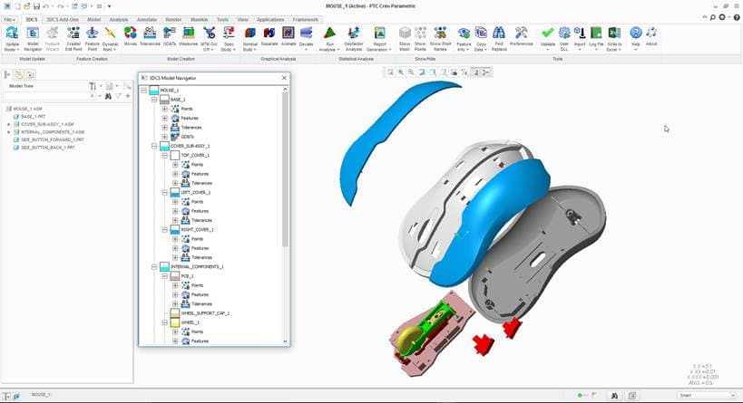 DCS Introduces 3DCS for CREO Now Fully Integrated with PTC CREO