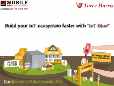 """Torry Harris Business Solutions Launches """"IoT Glue"""" at the Mobile World Congress 2017"""