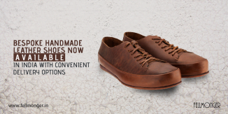 Bespoke Handmade Leather Shoes Now Available in India with Convenient Delivery Options