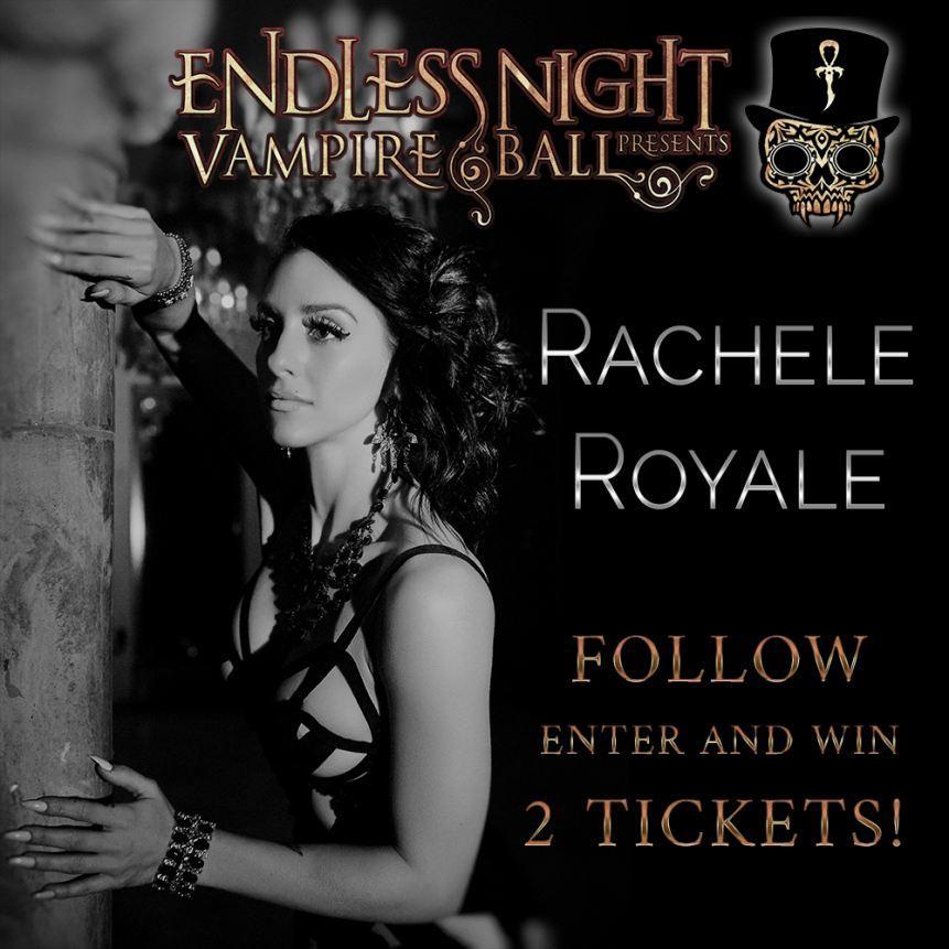 Rachele Royale to headline Endless Night Vampire Ball