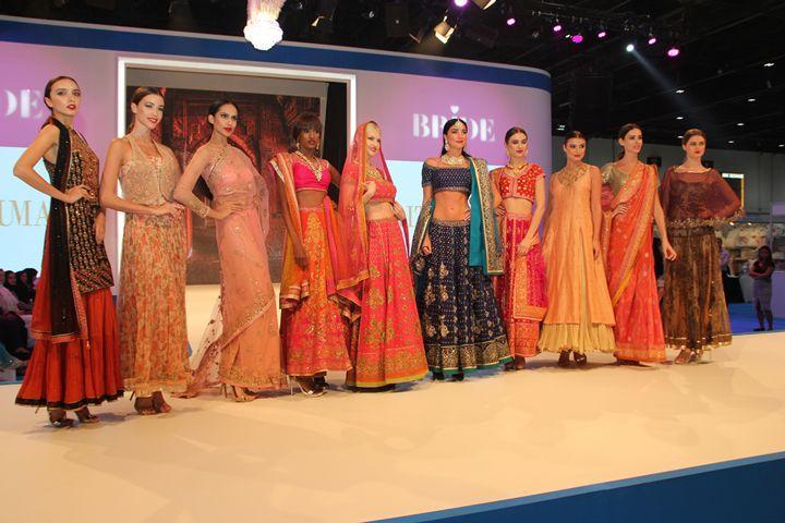 Ritu Kumar 'Wows' Audiences with a Spectacular Fashion Show at Bride Dubai 2017