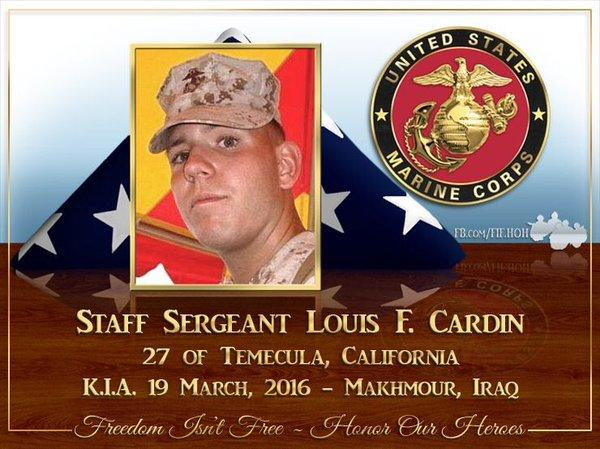 In rememberence of SSgt Loius Cardin USMC