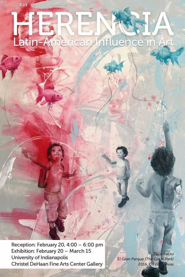 HERENCIA: Latin-American Influence In Art . . . D. Del Reverda-Jennings: