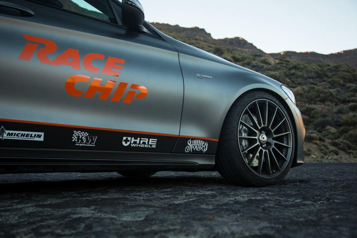 Mercedes C43 AMG Performance Enhancement With RaceChip