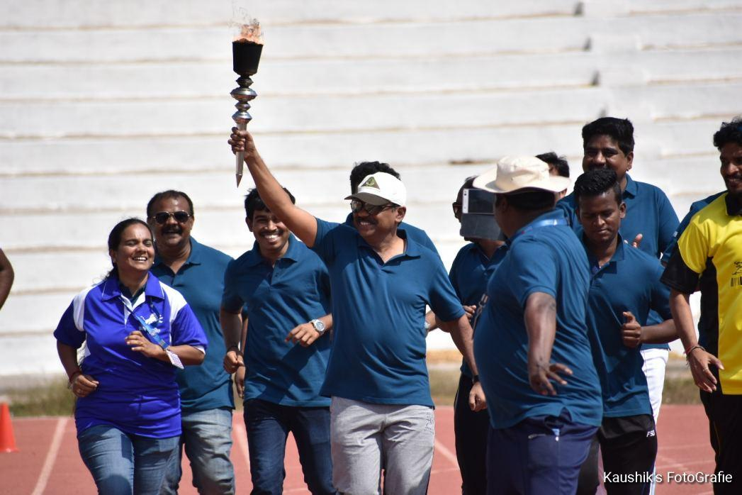 Annual Sports Day at Omega Healthcare