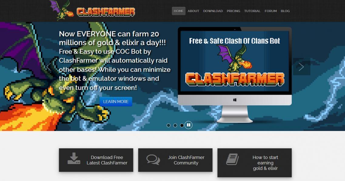 ClashFarmer Offers a New Clash of Clans Bot