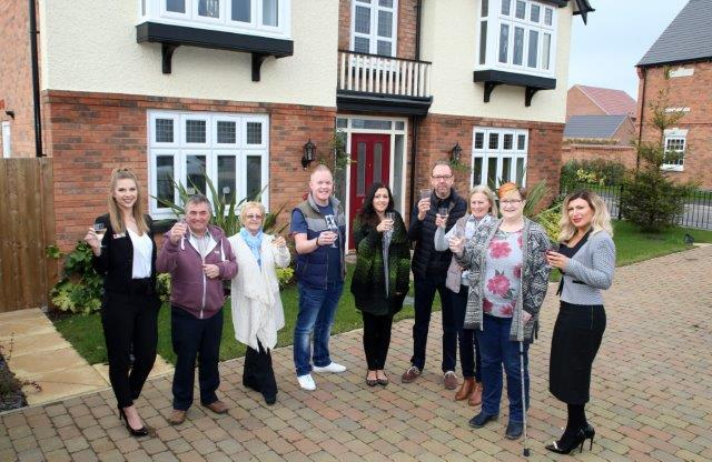 Neighbourly afternoon for Davidsons homebuyers in Ravenstone, Leicestershire