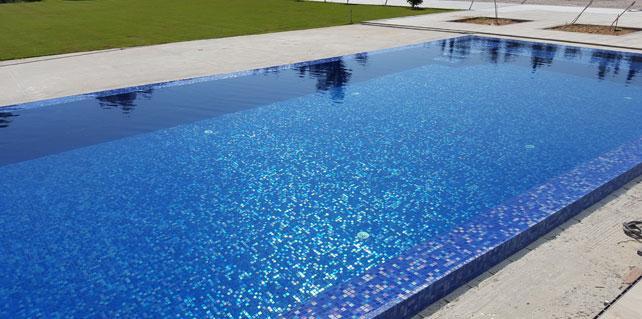 Create A Splash With Spanish Glass Mosaic Pool Tiles