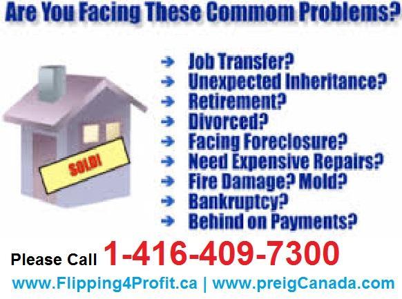 Canadian Real Estate Angel Investors help panic Home sellers