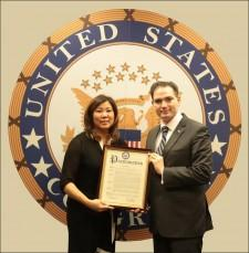"""US Congress Dedicates November 12th as """"Dilip Chauhan Day"""" in New York 6th Congressional District"""