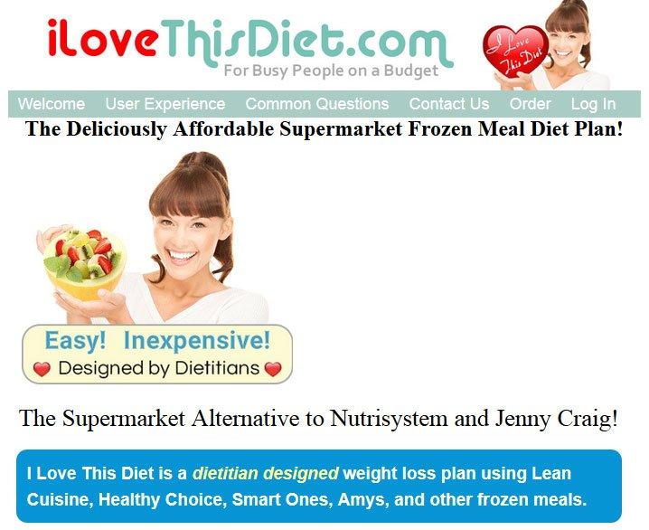 I Love This Diet™ Adds EVOL® Frozen Meals to its Diet Plan