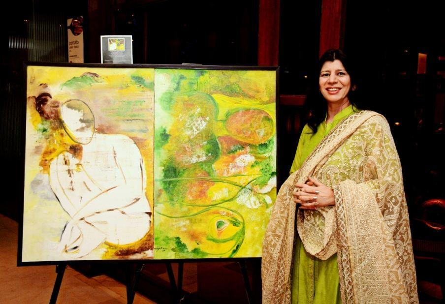 Art Lovers Throng to See the New Art Works During 'Talent Empowered' from Feb 26 to Mar 5
