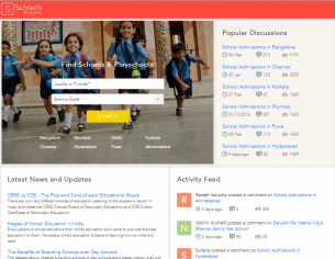 UrbanPro announces the launch of Playschool and School Search & a Parent Community Website