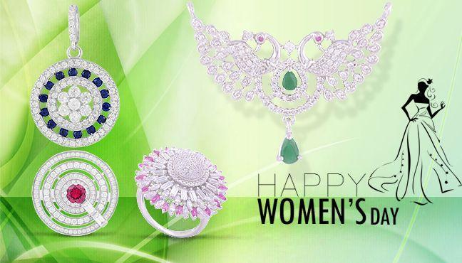 International Women's Day Silver Jewellery Range!