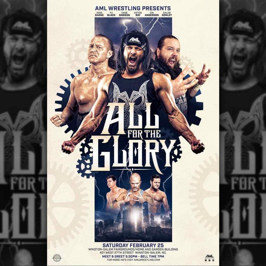 AML Wrestling/February 2017/Official Results